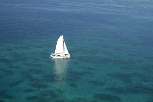 Passions sailing home on Great Barrier Reef