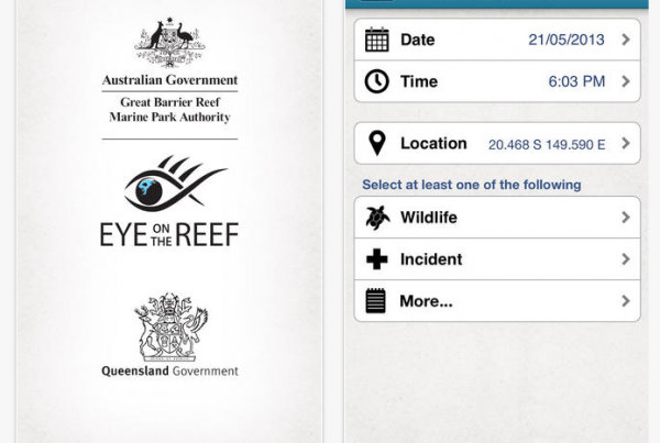 Great Barrier Reef - Eye on the reef app