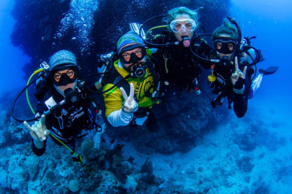 Coral Nurture Program team from Passions Of paradise